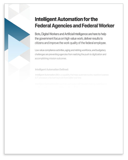 intelligent automation for federal white paper