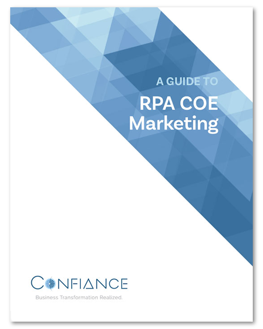 RPA COE Marketing